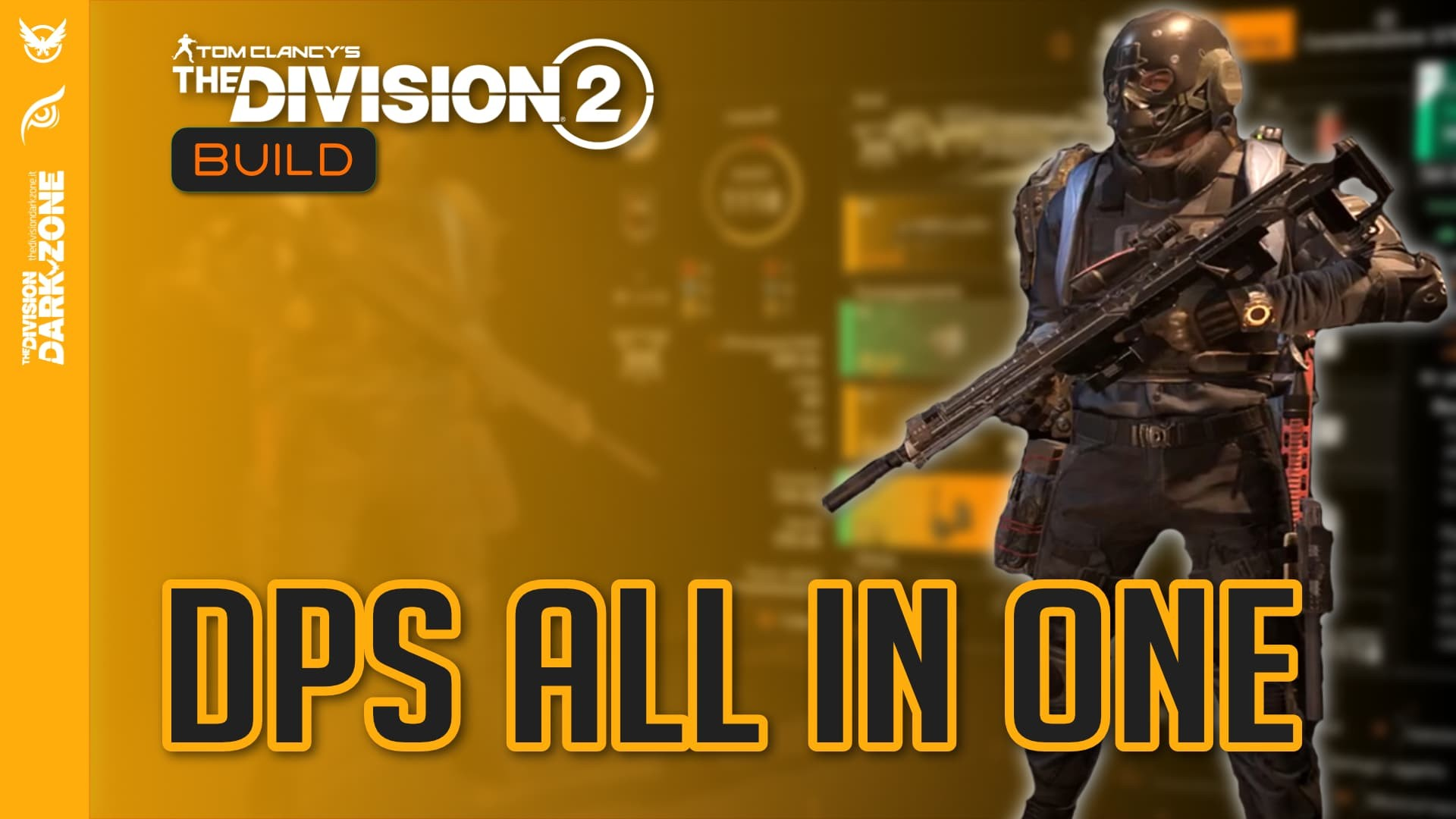 Build the division 2 - dps all in one