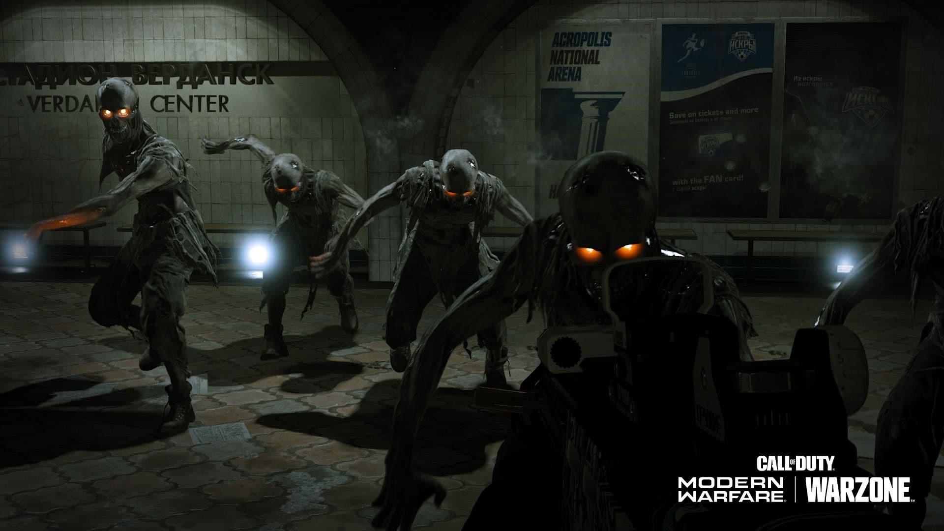 Call of Duty Warzone Zombie evento