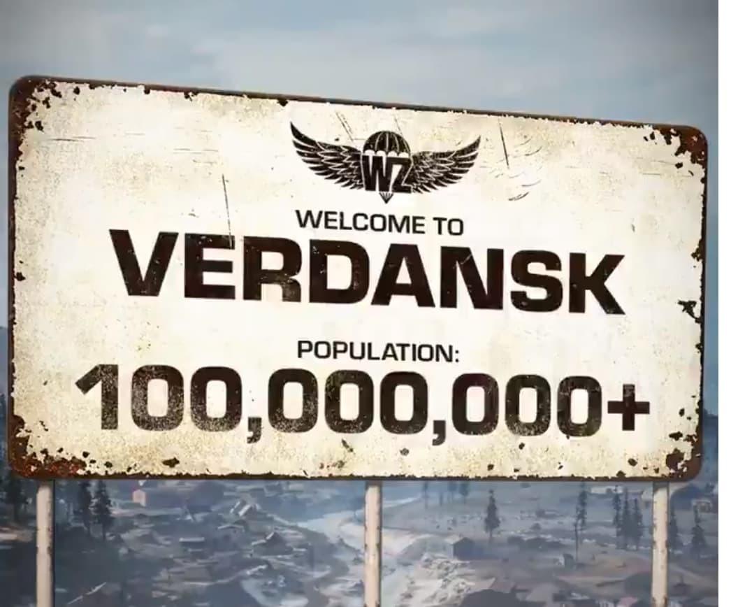 Call of Duty Warzone 100 milioni