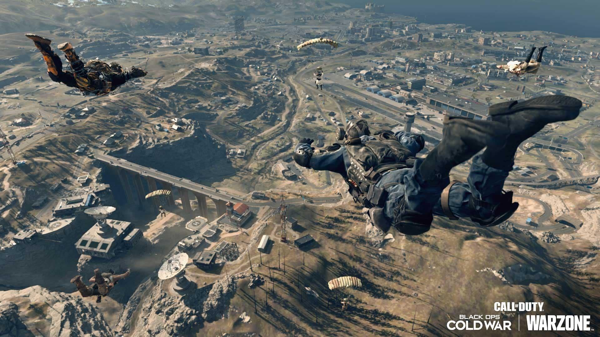 Call of Duty Warzone drop su Verdansk