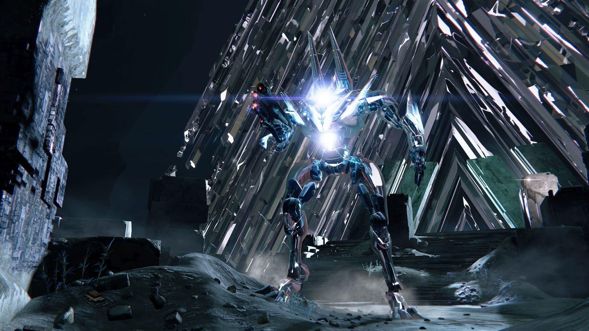 Destiny 2 La volta di Vetro artwork