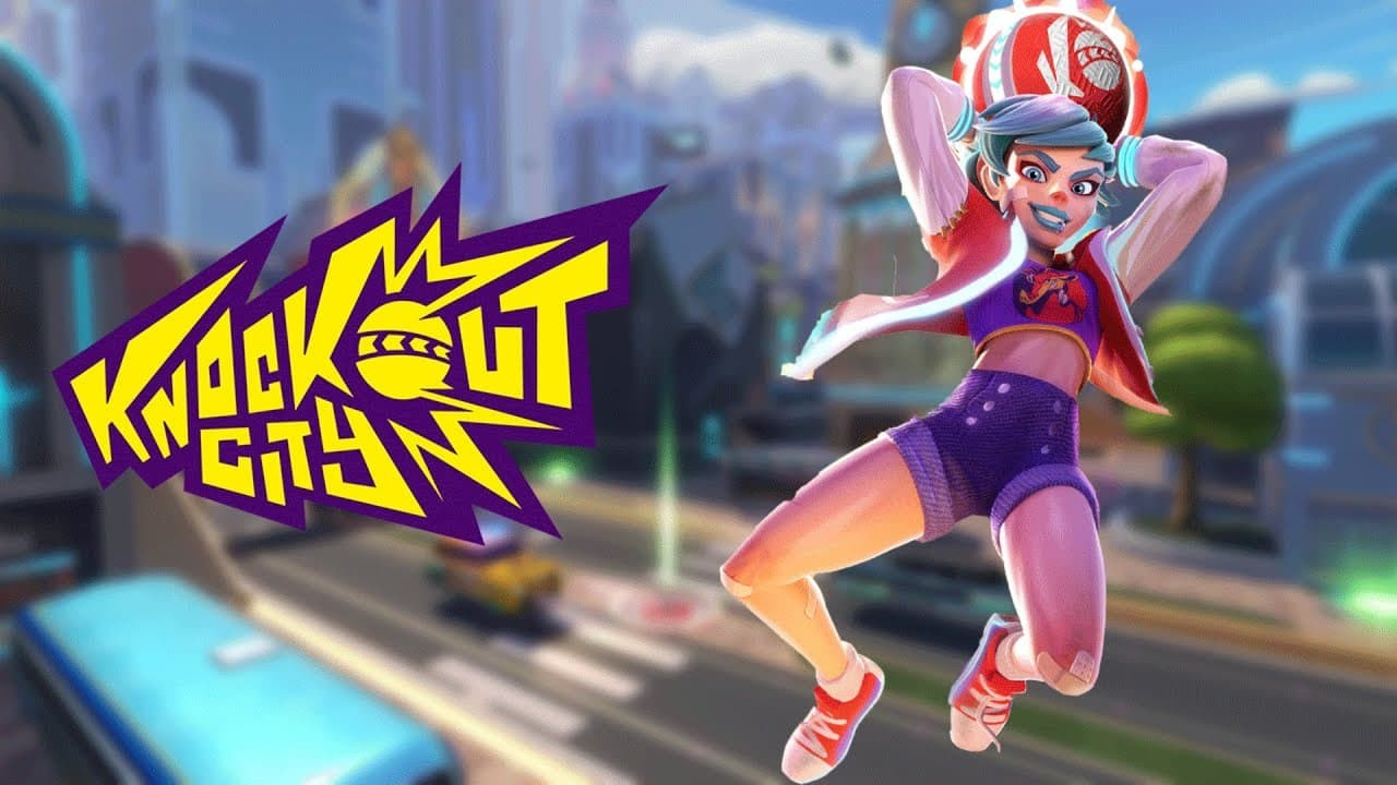 Knockout City copertina titolo artwork