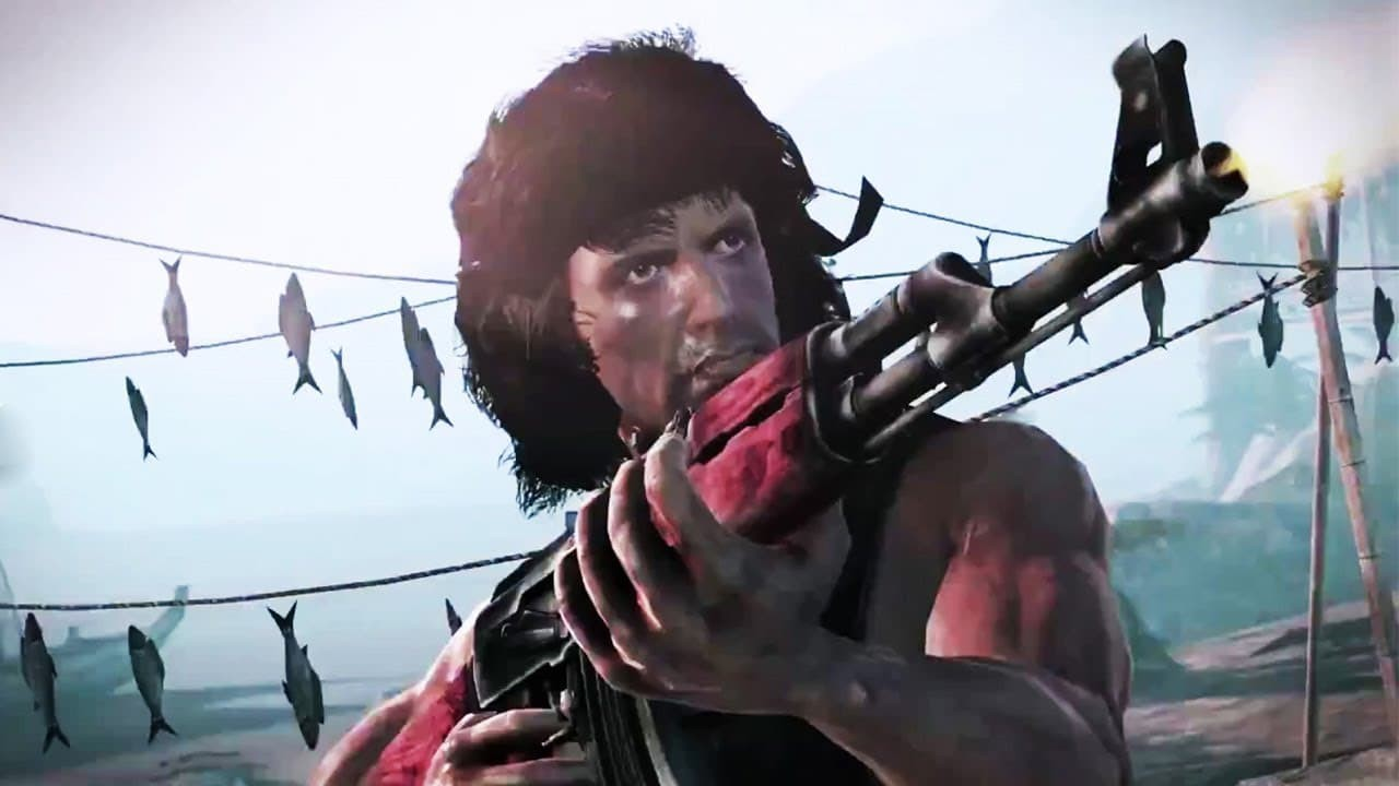 Rambo the videogame immagine trailer
