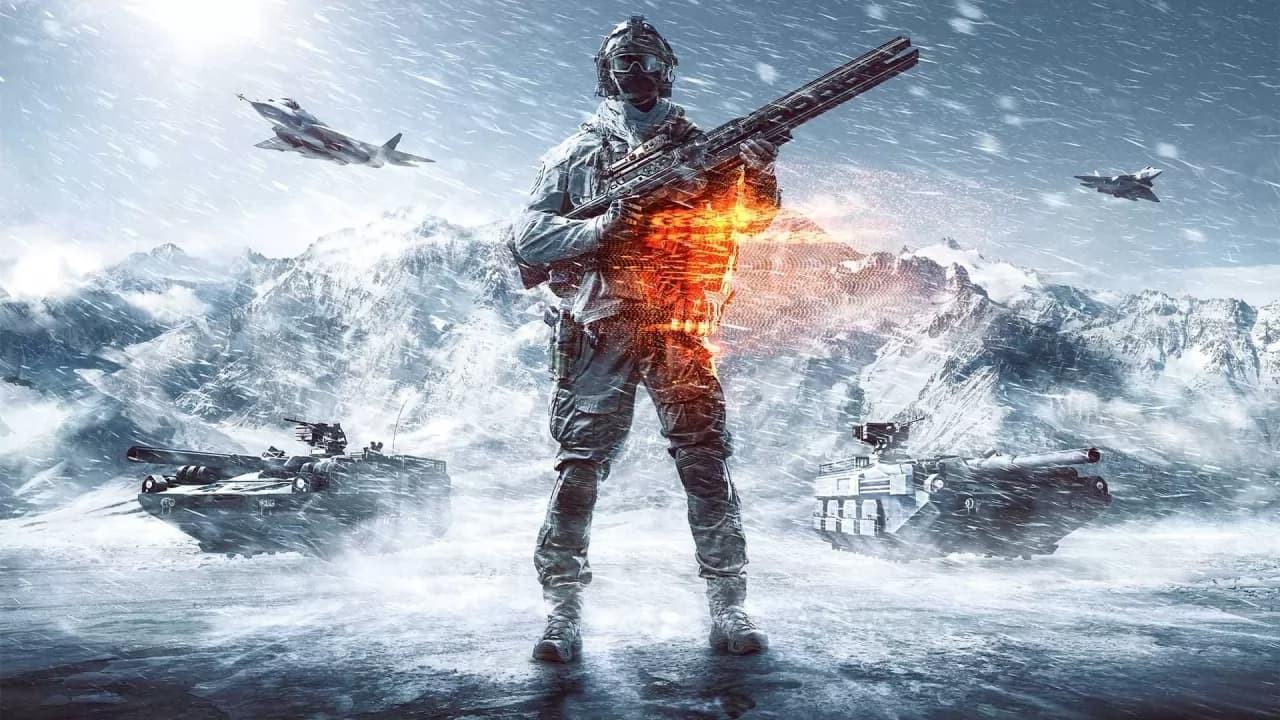 Battlefield immagine neve carriarmati e aerei