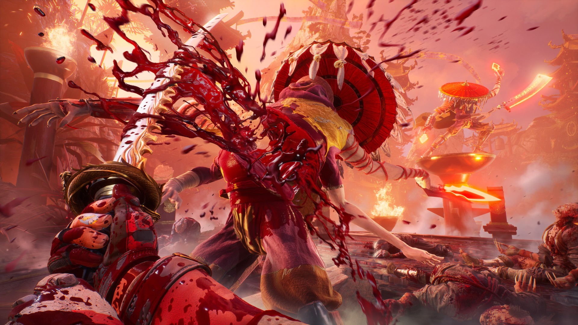 Shadow Warrior 3 fendente katana artwork