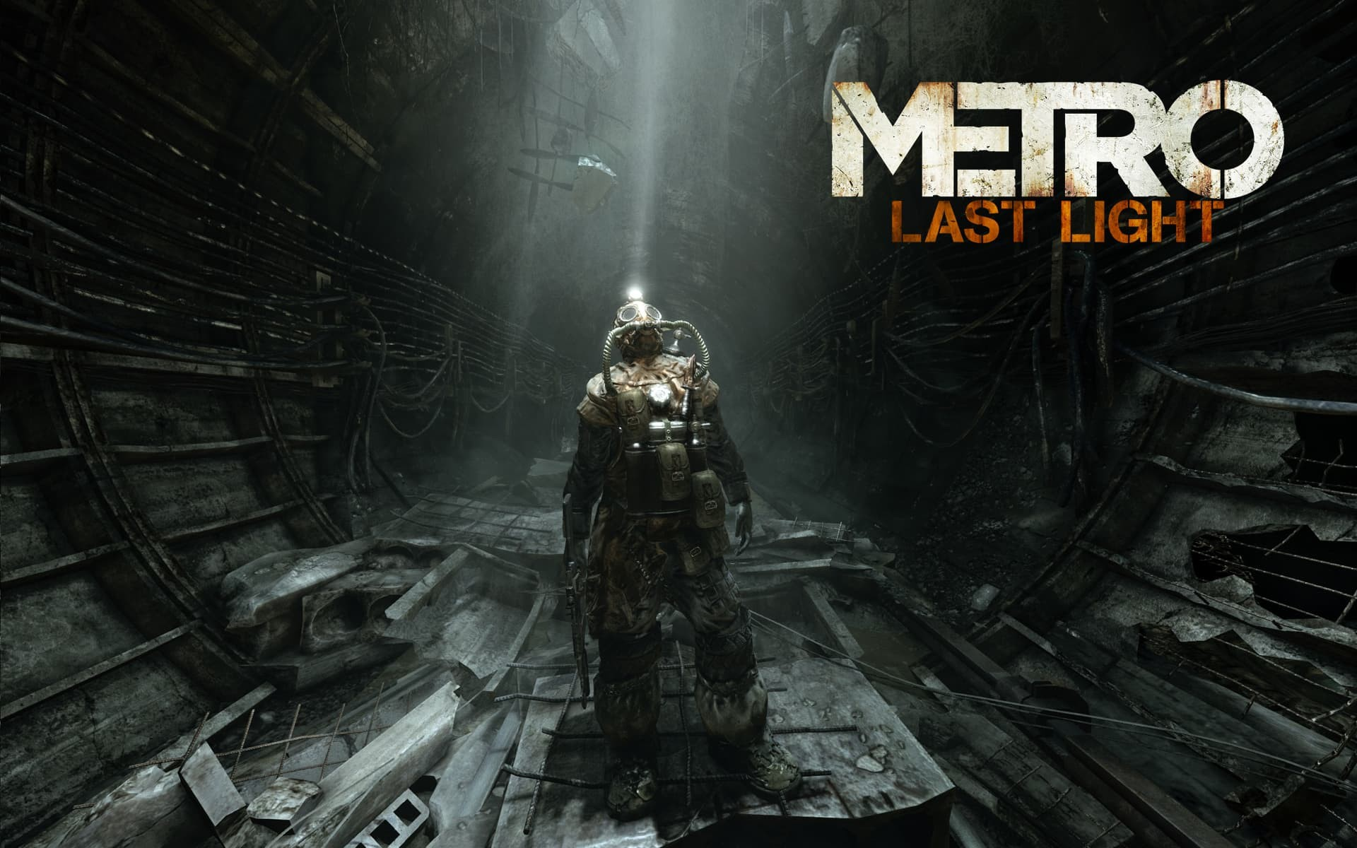Metro Last Light copertina con logo