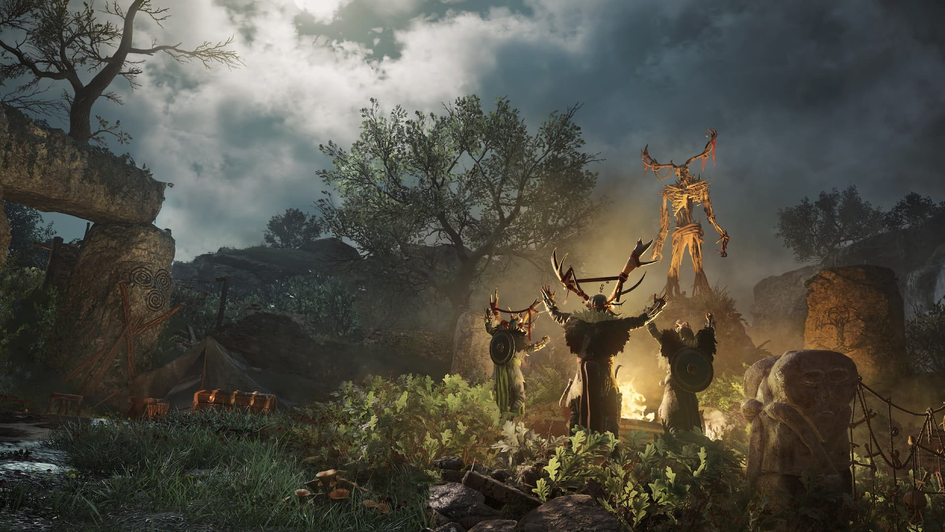 Assassin's Creed Valhalla cerimonia dei druidi