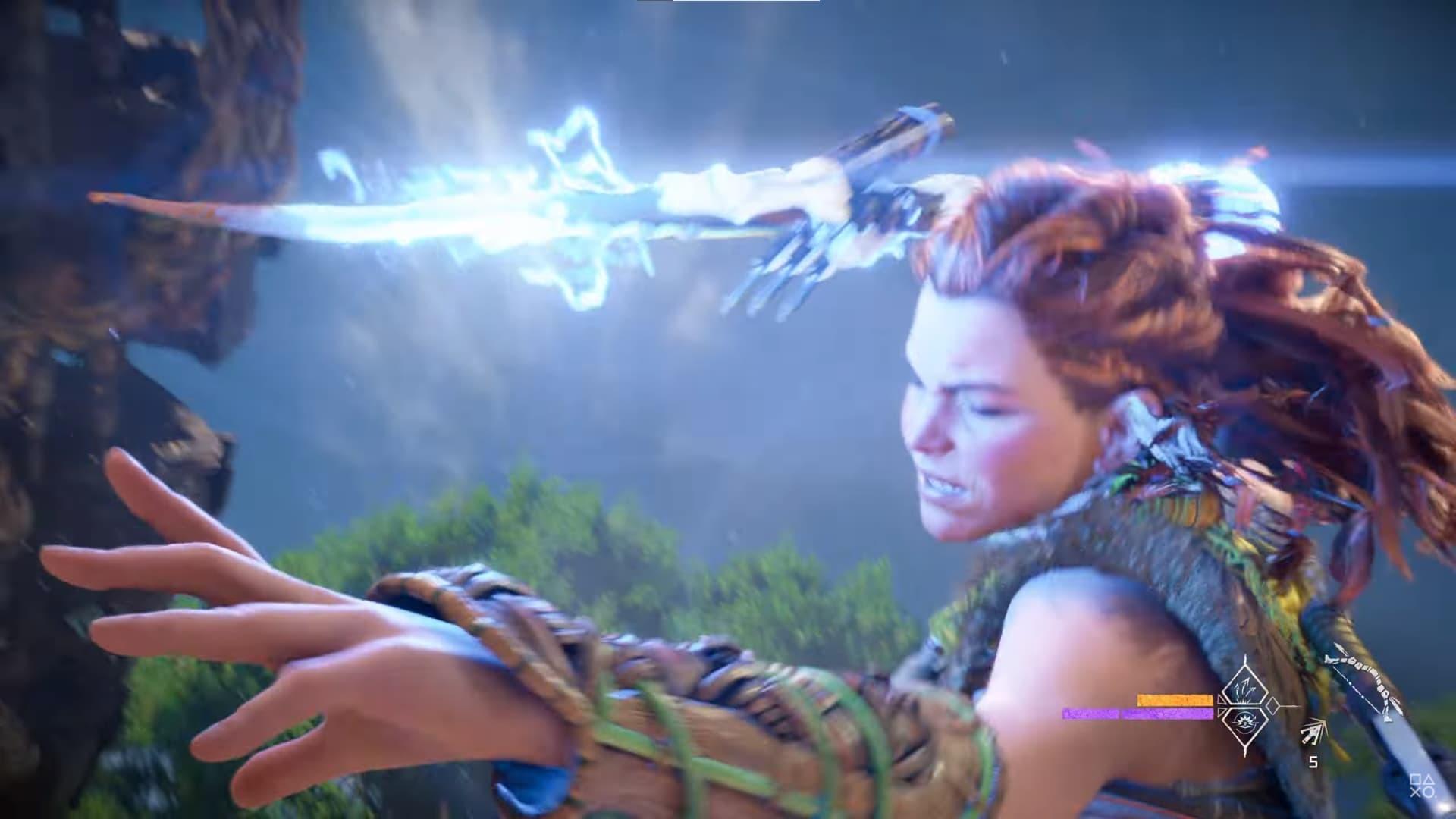 Horizon Forbidden West screenshot abilità speciale