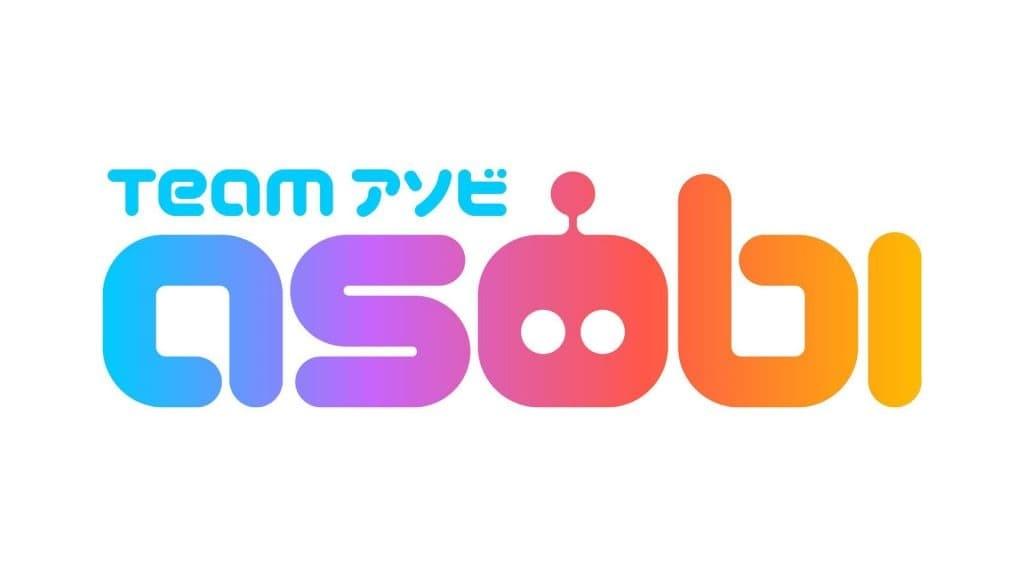 Team Asobi logo colorato sfondo bianco