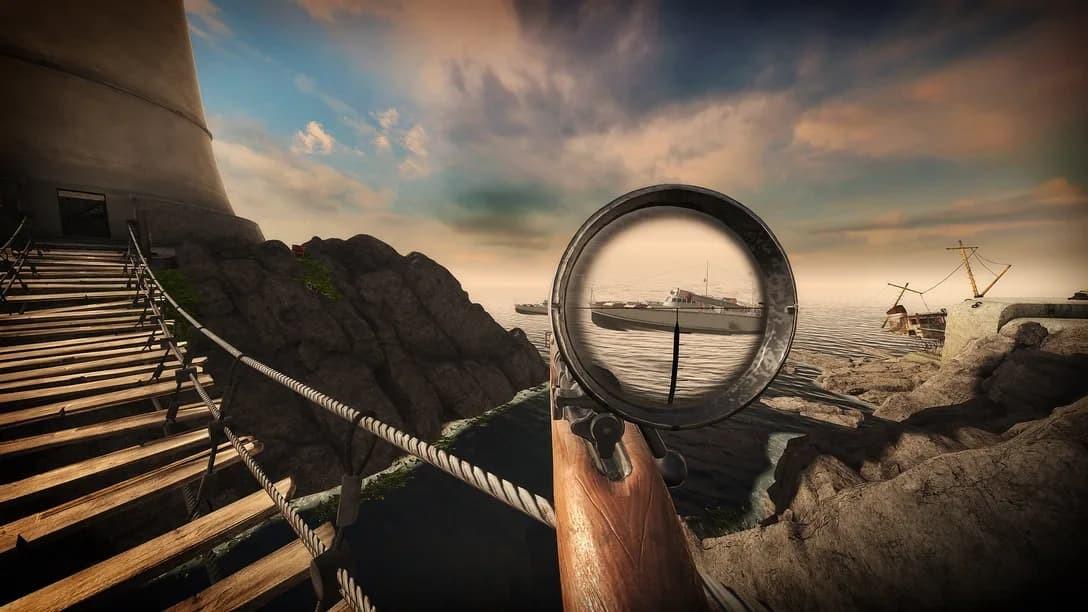 Sniper Elite VR pressikit fucile di precisione