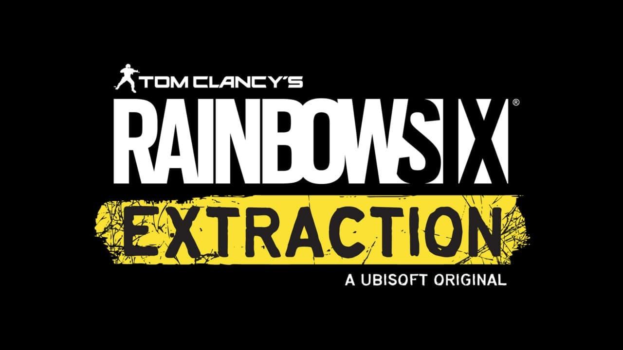 Rainbow Six Extraction Logo sfondo nero