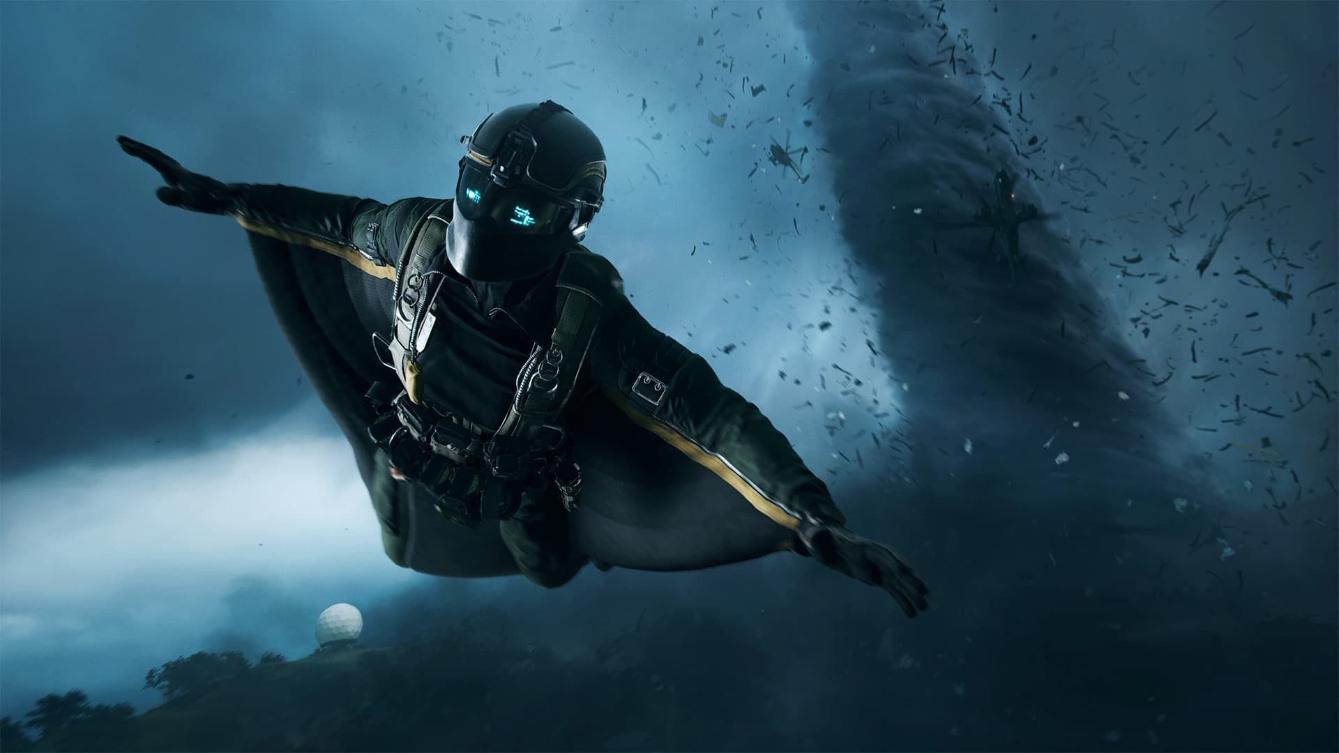 Battlefield 2042 tuta alare primo piano