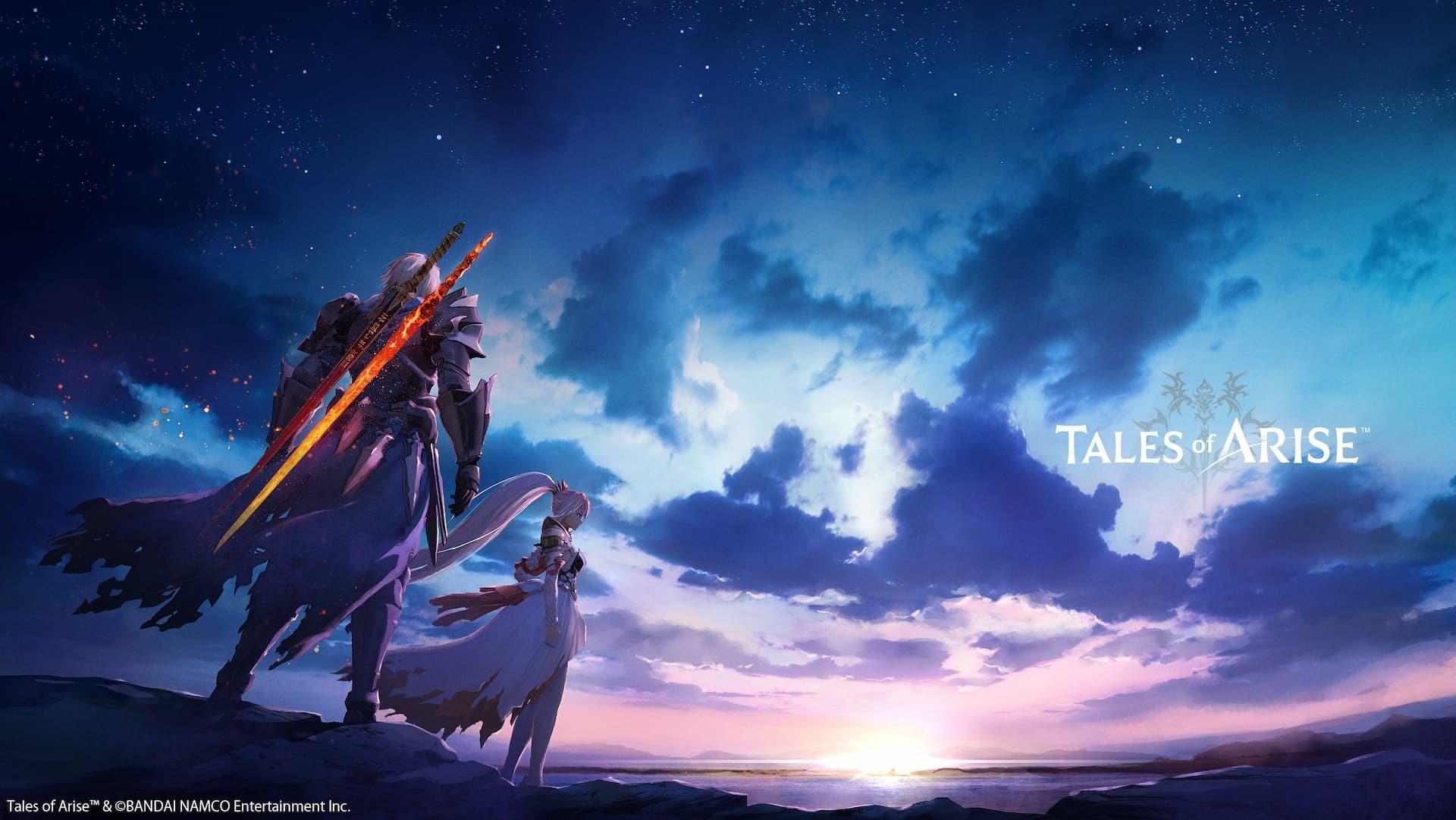 Tales of Arise copertina con titolo