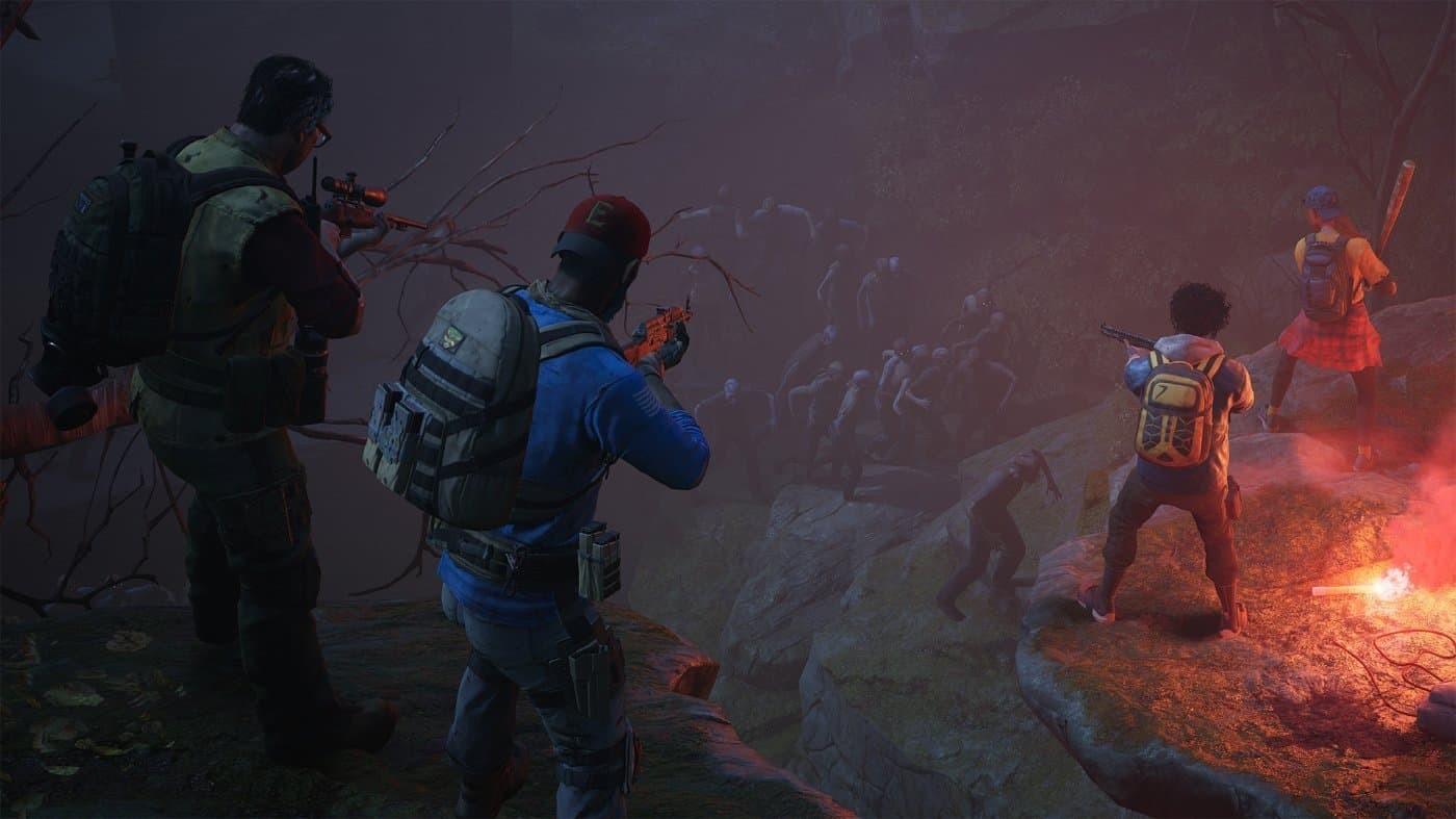 Back 4 Blood scalata zombie