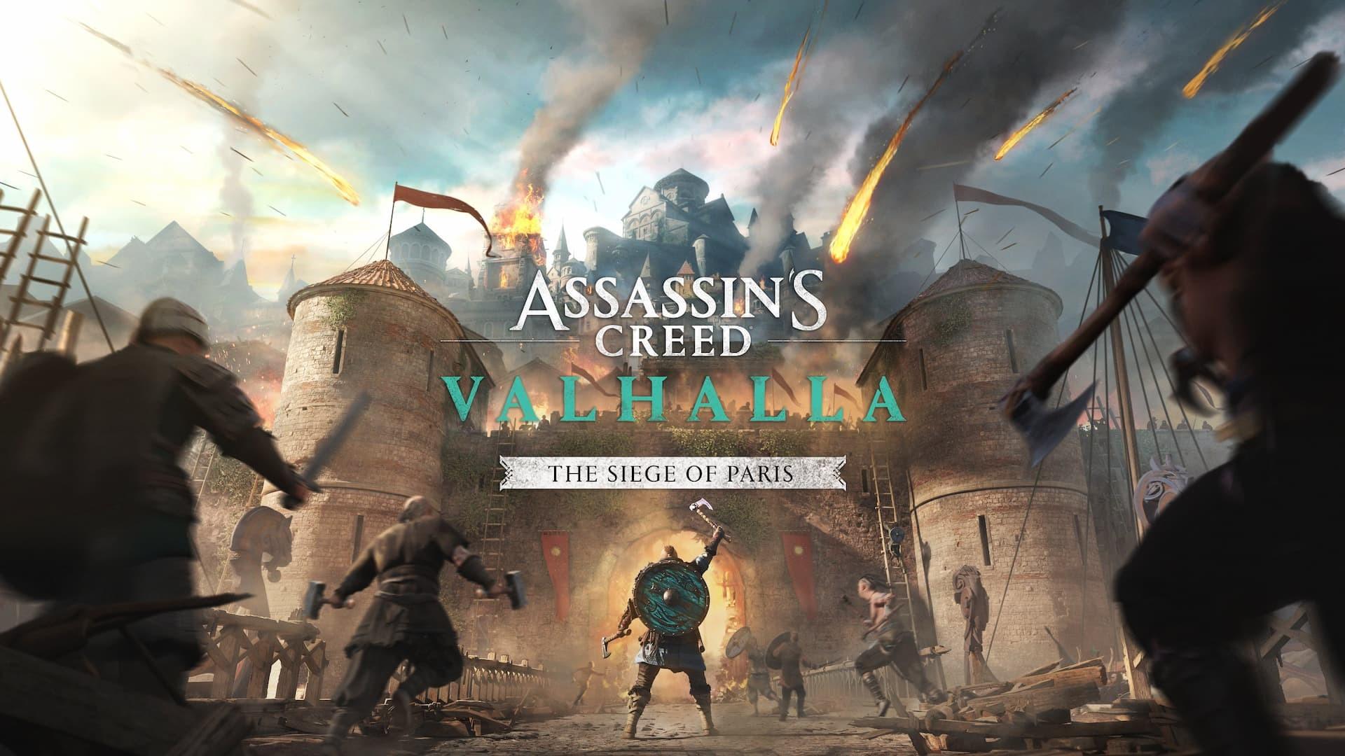 Assassin's Creed Valhalla L'assedio di Parigi copertina artwork