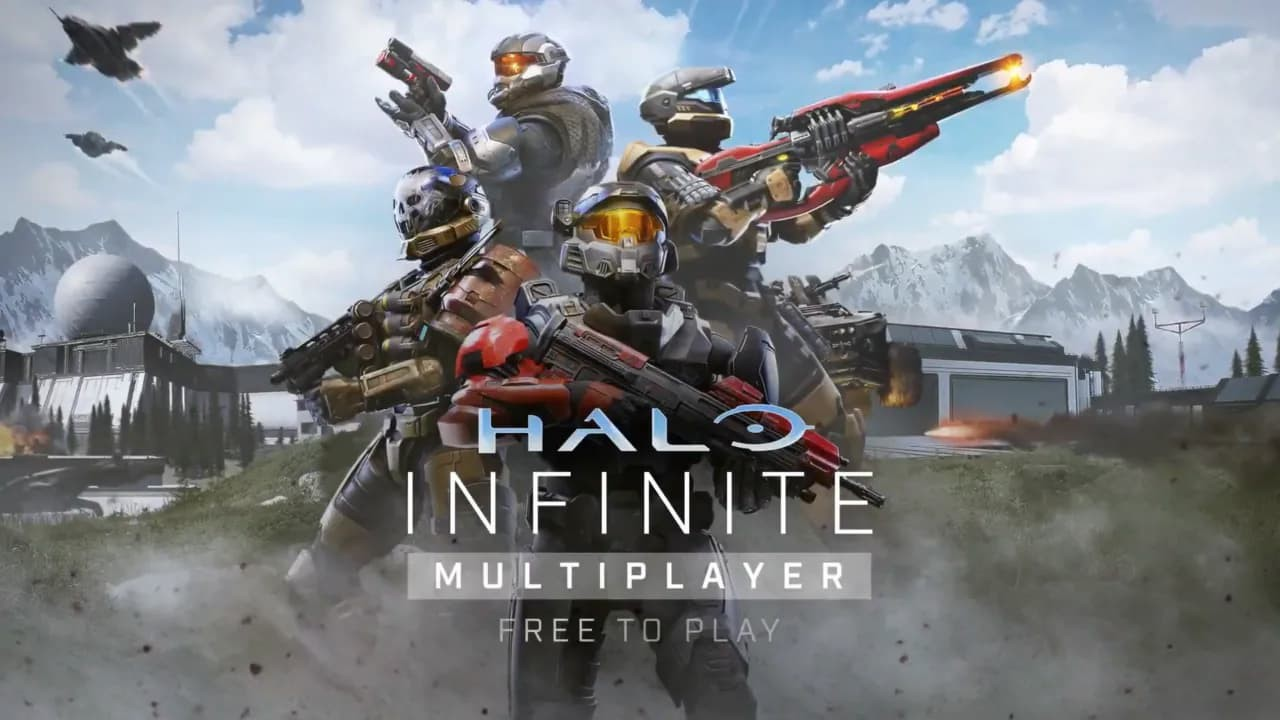 Halo Infinite Multiplayer free to play copertina