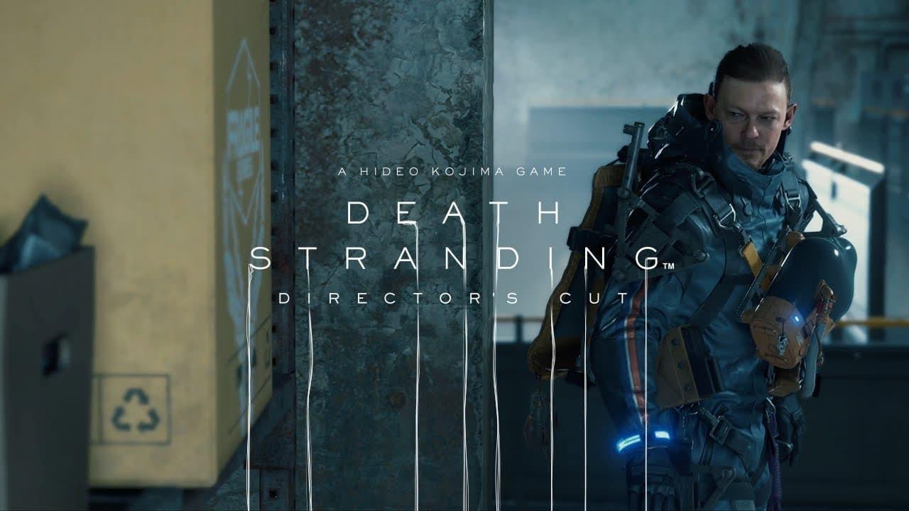 Death Stranding Director's Cut con logo e personaggio