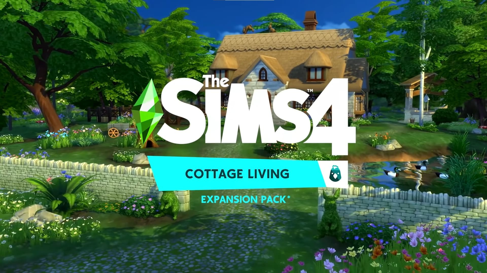 The Sims 4 Cottage Living con titolo