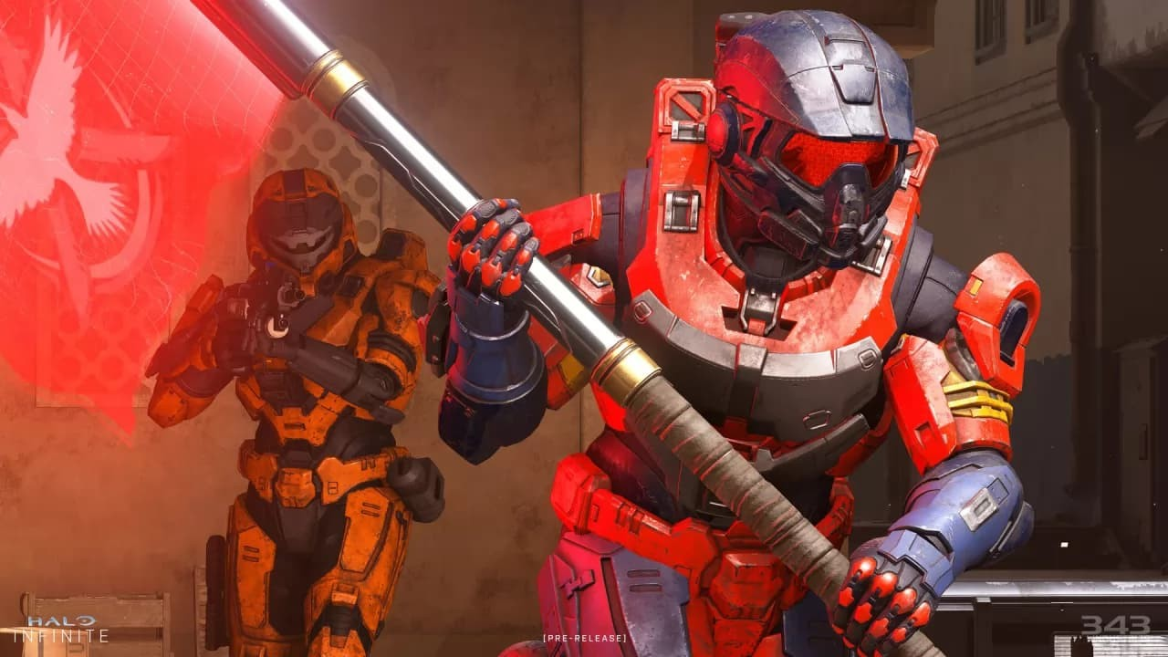 Halo Infinite multuplayer squadra rossa catch the flag