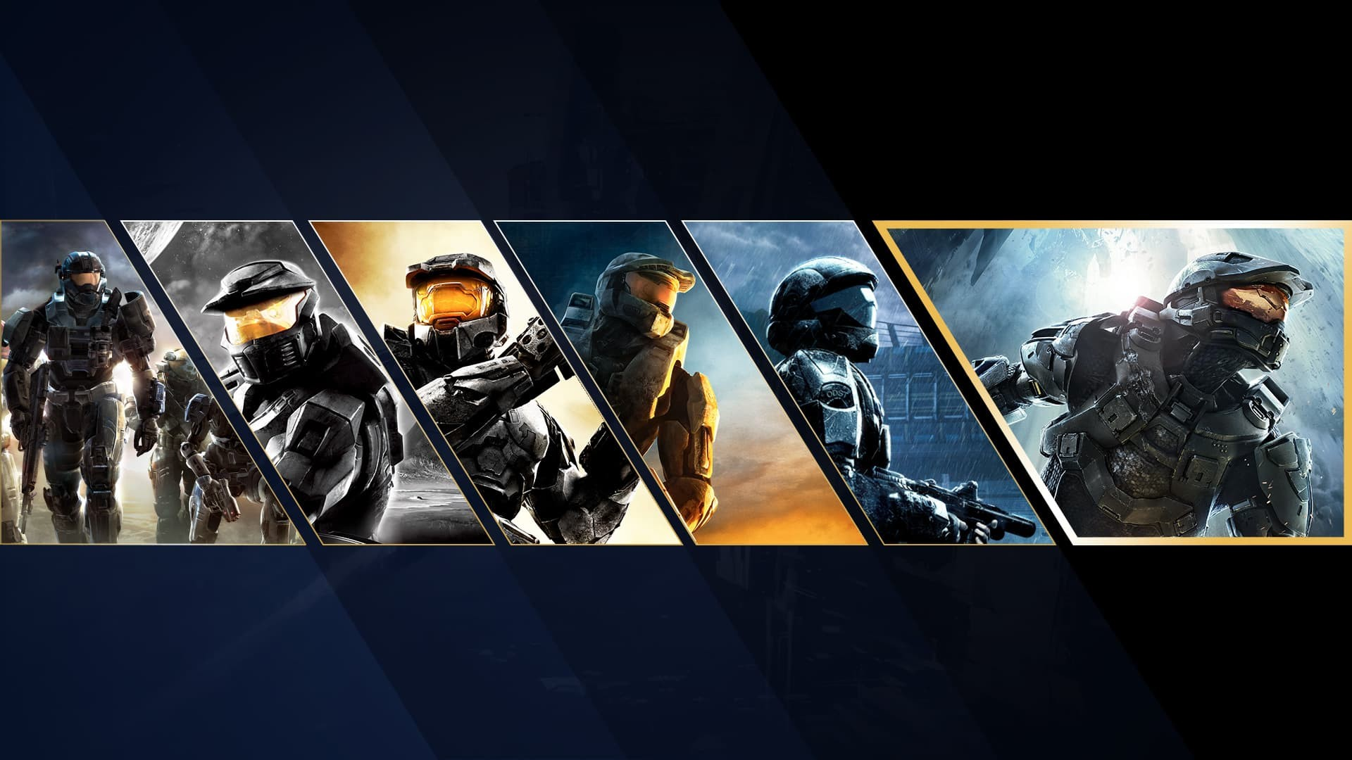 Halo Master chief collection tutti i chief