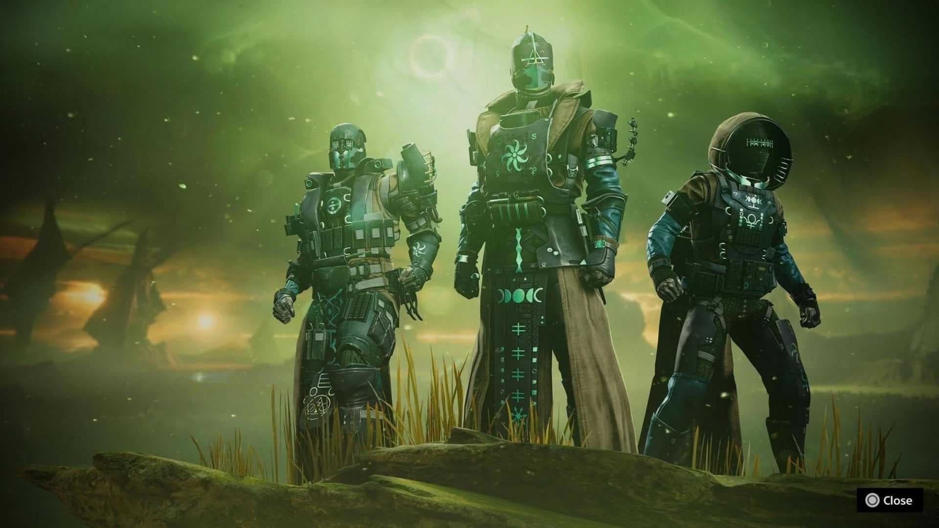 Destiny 2 la regina dei sussurri set di armature