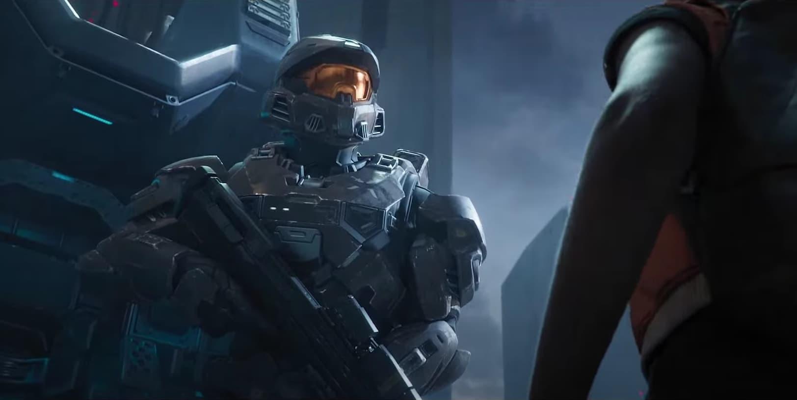 Halo infinite Spartan trailer multiplayer