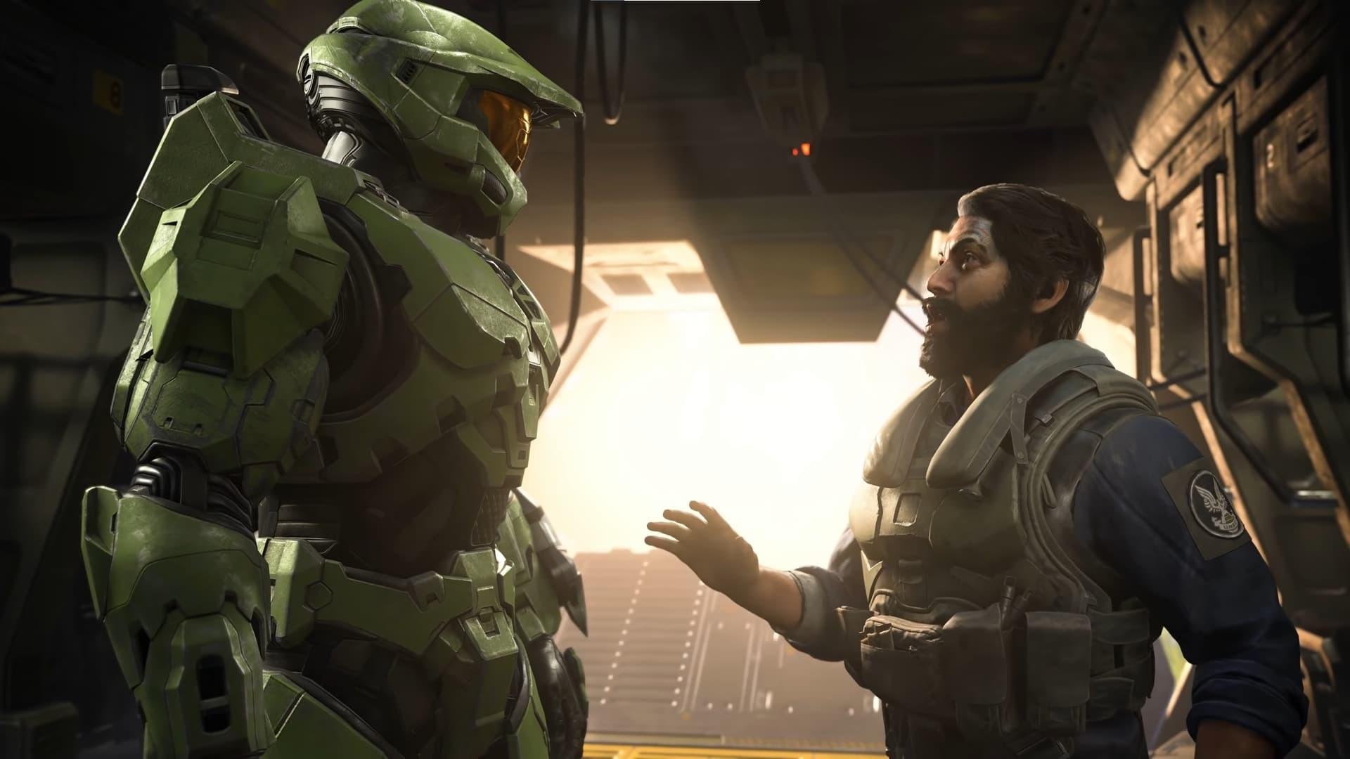 Halo infinite Chief and buddy pilot
