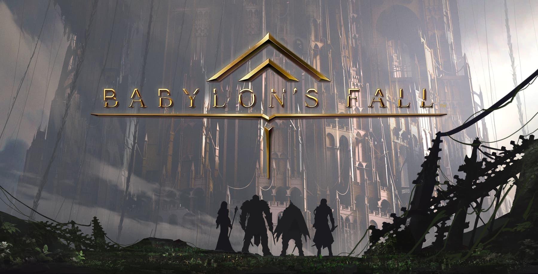 Babylon's Fall copertina con titolo