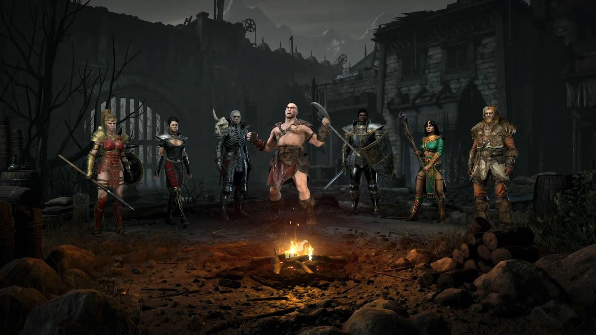 Diablo 2 Resurrected scelta delle classi