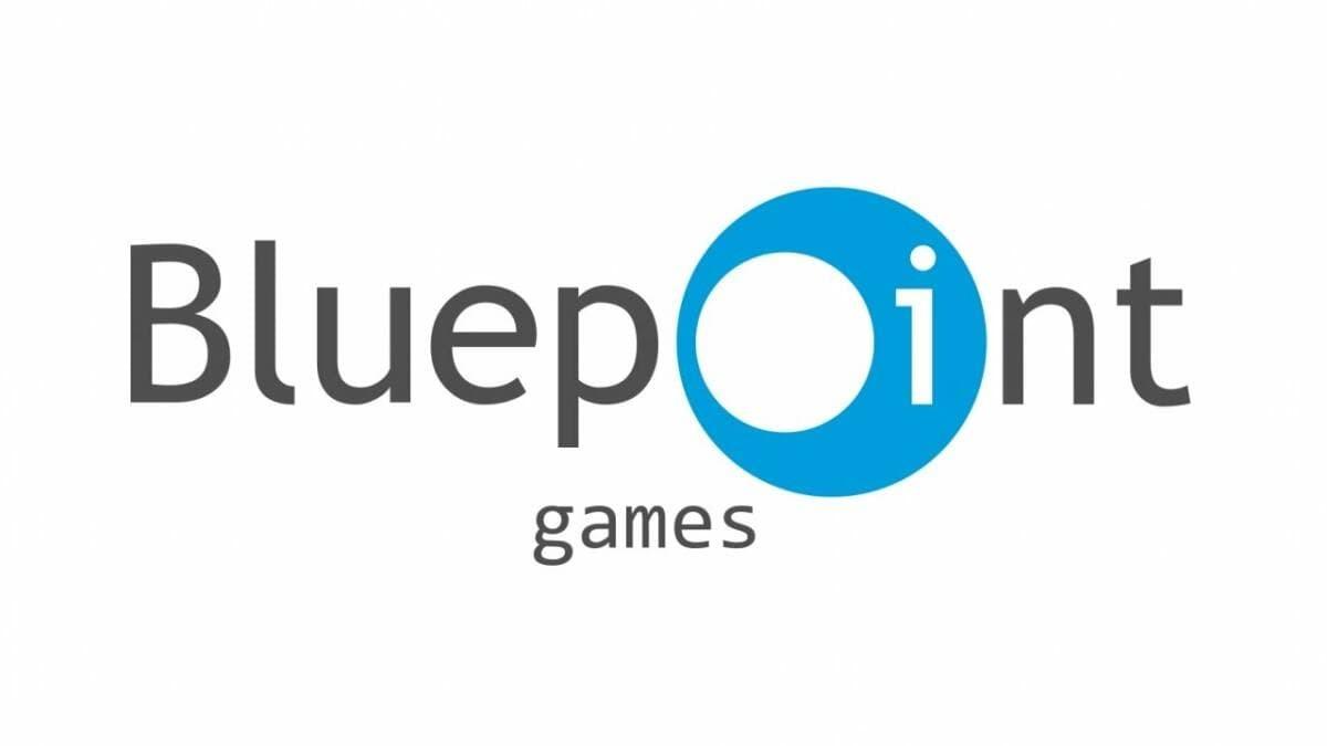 Bluepoint Games logo sfondo bianco