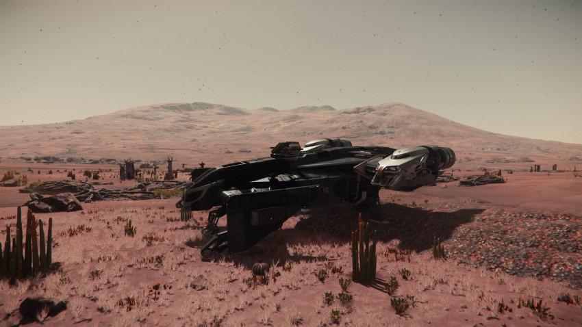 Star citizen atteraggio sul pianeta Hurston