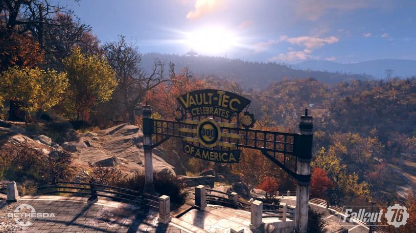 Fallout 76 in game screenshot