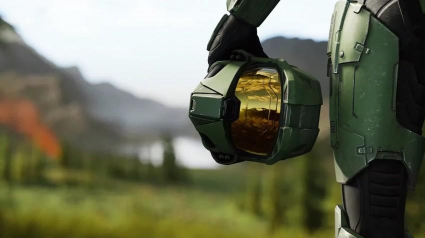 Halo Infinite master chief annuncio
