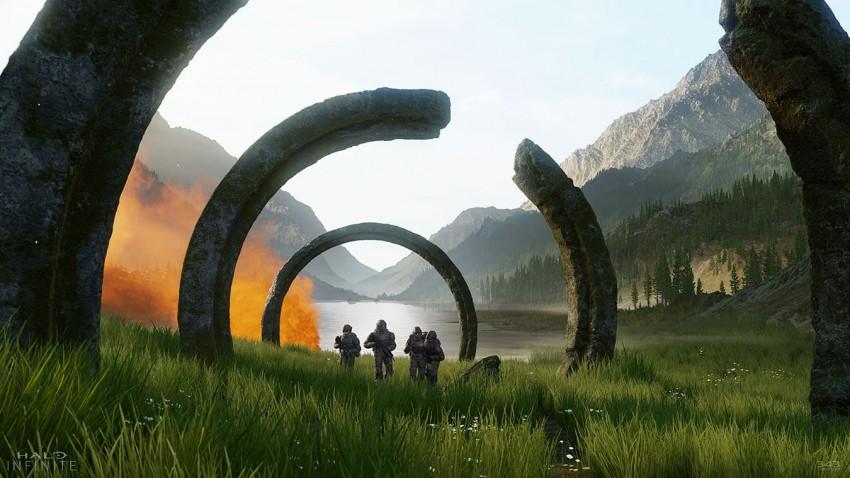Halo Infinite trailer marines anelli di pietra