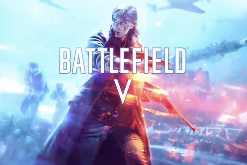 Battlefield V copertina retail