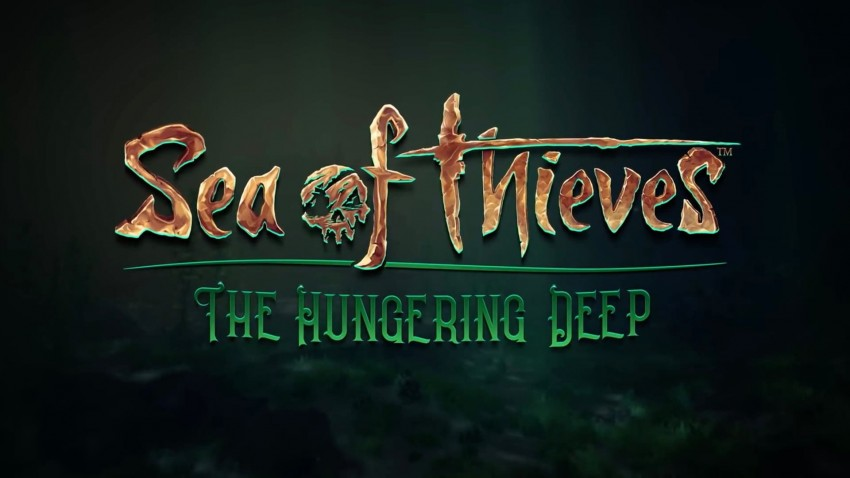 Sea of thieves The hungering deep copertina