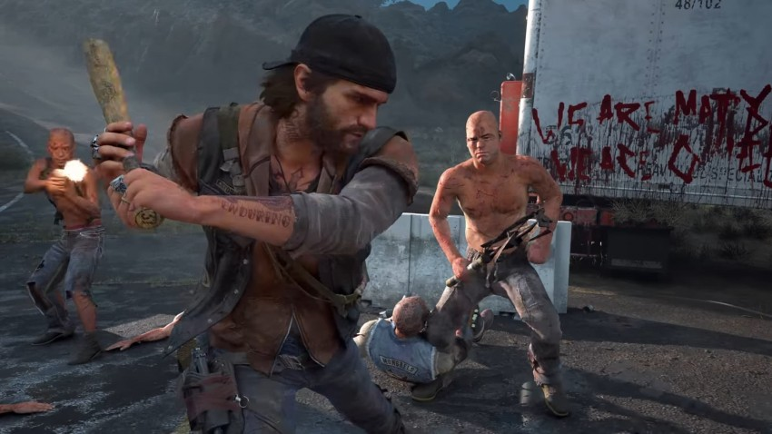 Days Gone immagine in game