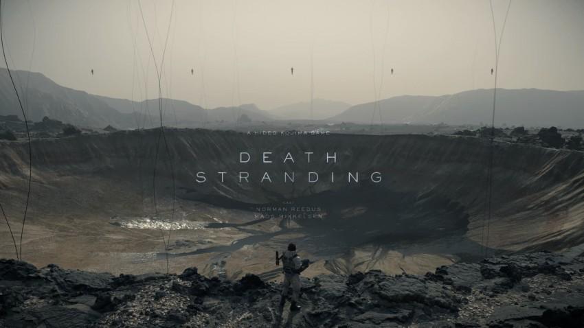 Death Stranding titolo poster