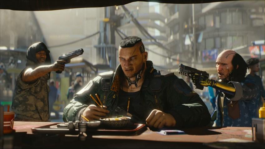 cyberpunk 2077 Ramen