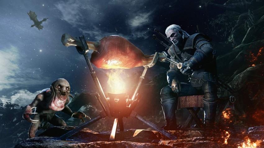 Monster Hunter World Geralt of Rivia