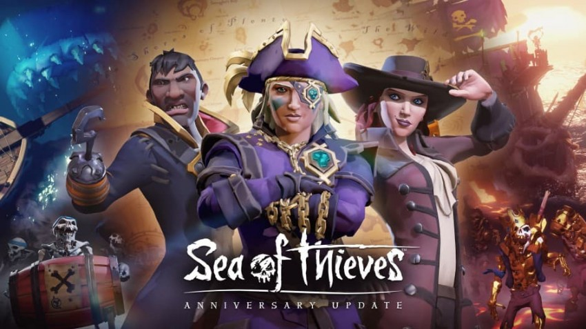 Sea of thieves anniversary update copertina