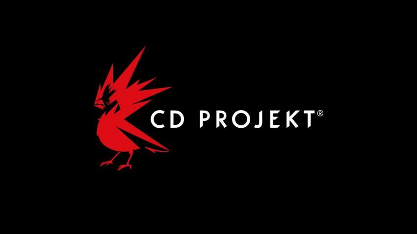 CD Projekt Red Logo Sfondo nero