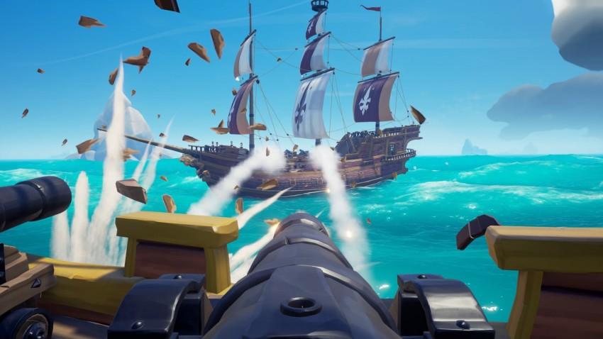 sea of thieves battaglia navale