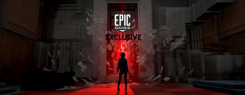 Epic games store Control giochi esclusivi