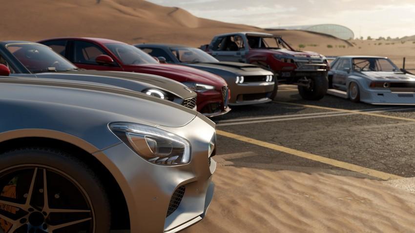 Forza Motorsport turn 10 dubai pista