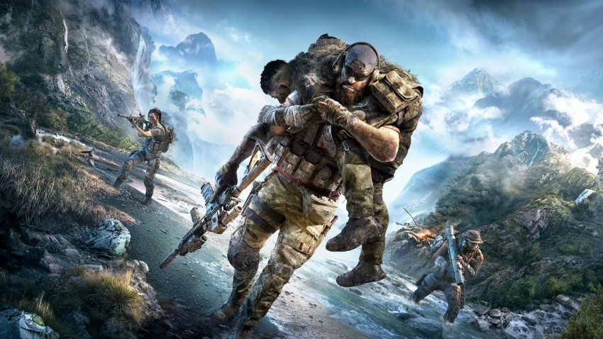Ghost Recon Breakpoint covere no logo