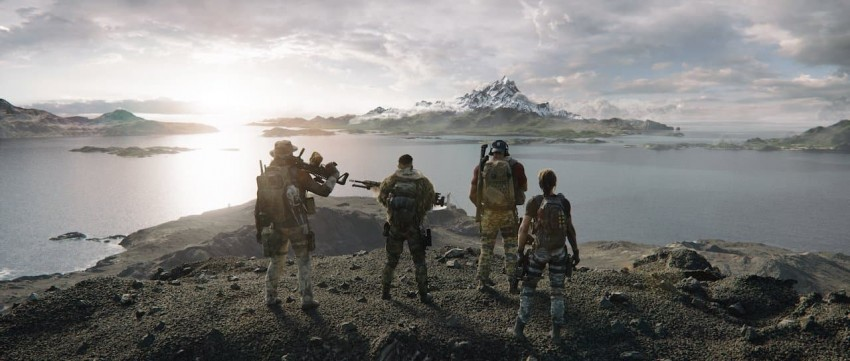 Ghost Recon Breakpoint squad