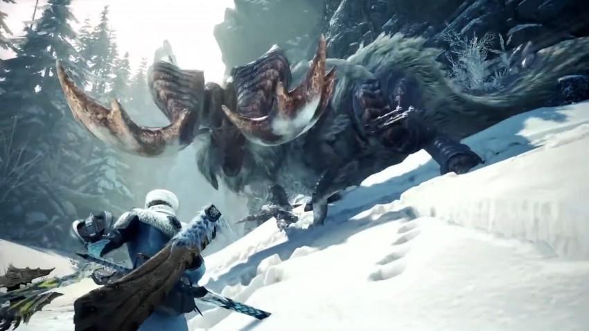 Monster Hunter World Iceborn DLC