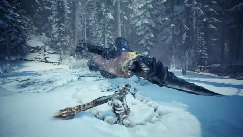 Monster Hunter World Iceborn reveal trailer