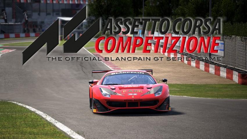 Assetto Corsa Competizione Copertina recensione def